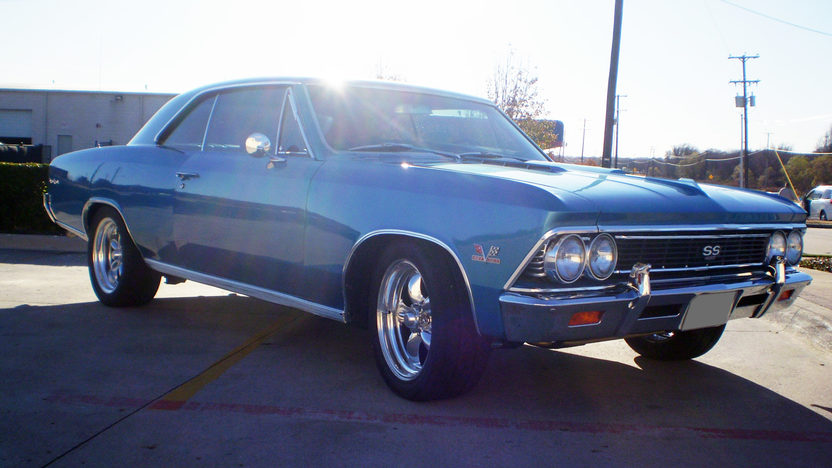 1966 Chevrolet Chevelle SS 427/450 HP, 5-Speed presented as lot S96 at Dallas, TX 2011 - image4