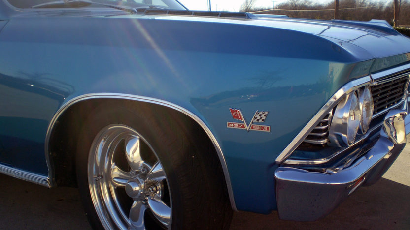 1966 Chevrolet Chevelle SS 427/450 HP, 5-Speed presented as lot S96 at Dallas, TX 2011 - image5