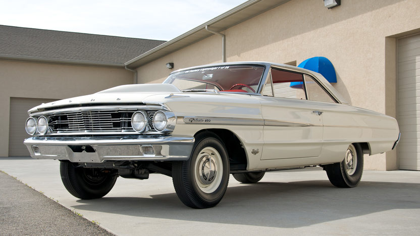 1964 Ford Galaxie 500 Lightweight 427 CI, 4-Speed presented as lot S100 at Dallas, TX 2011 - image8