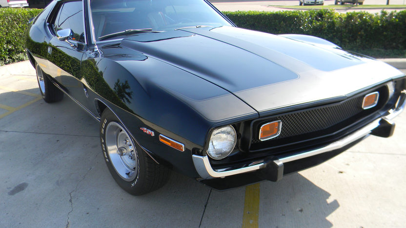 1973 AMC Javelin 401 CI, 4-Speed presented as lot S107 at Dallas, TX 2011 - image3
