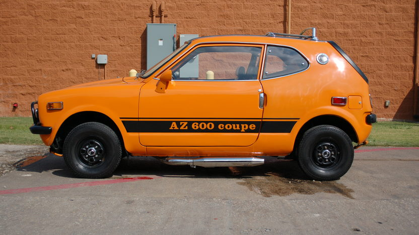 1972 Honda AZ 600 Coupe 600 CC, 4-Speed presented as lot T143 at Dallas, TX 2011 - image2