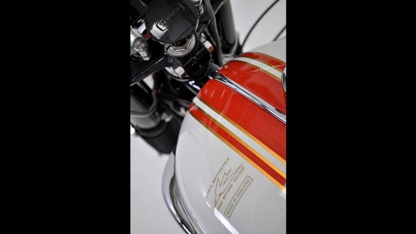1966 Triumph Bonneville presented as lot T48 at Dallas, TX 2011 - image5
