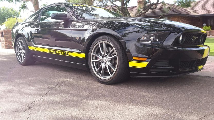 Honda S66 >> 2014 Ford Mustang Hertz Penske GT 5.0L, No. 17 of 150 Built | Mecum Auctions