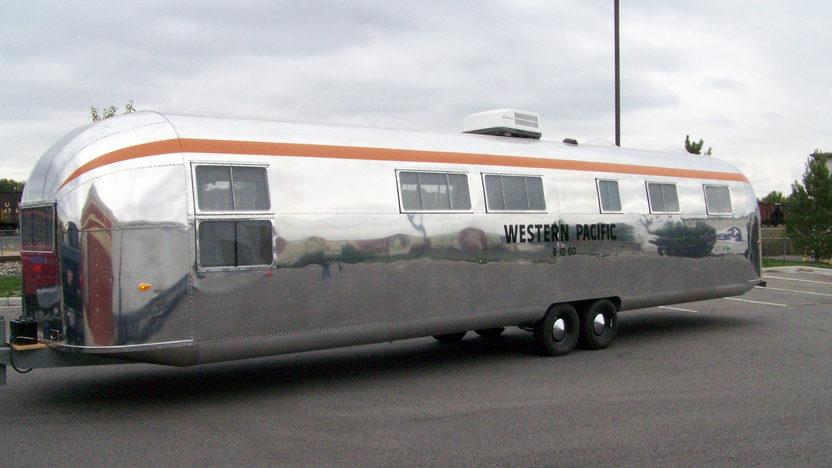 1962 Western Pacific 40 Airstream Mecum Denver 2015 S109