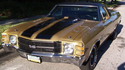 1971 Chevrolet El Camino SS-454