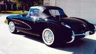 1957 Chevrolet Corvette Convertible 283/283 HP, 3-Speed presented as lot S98 at Kissimmee, FL 2009 - thumbail image2