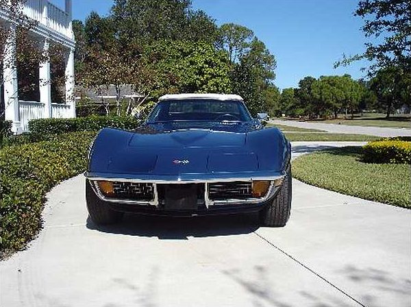 1972 Chevrolet Corvette Convertible 350/200 HP, Automatic presented as lot F151 at Kissimmee, FL 2009 - image2