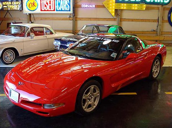 1997 Chevrolet Corvette Coupe LS1, 6-Speed Manual, VIN #007 presented as lot F262 at Kissimmee, FL 2009 - image8