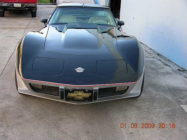 1978 Chevrolet Corvette Coupe Pace Car Replica, 350 CI, Automatic presented as lot T167 at Kissimmee, FL 2009 - image6