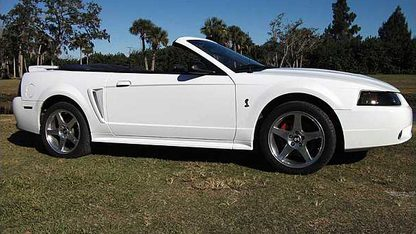 1999 Ford Mustang Cobra SVT Convertible