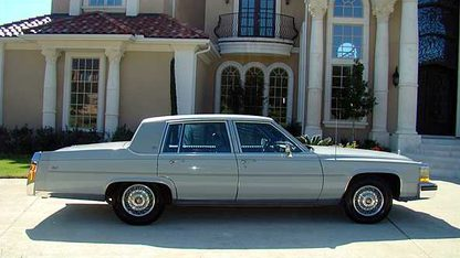 1988 Cadillac Fleet Brougham 4-Door Sedan