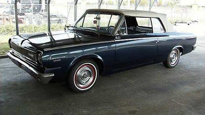 1966 American Motors 440 Rambler Convertible