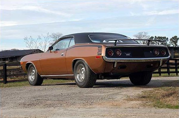 1972 Plymouth Cuda Coupe 340 CI, 4-Speed presented as lot F264 at Kissimmee, FL 2010 - image2