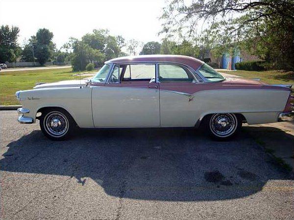 1955 dodge la femme coupe 270 ci hemi automatic presented for Shelby motors champaign il