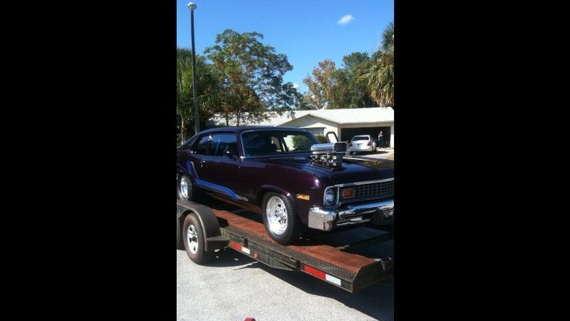 1974 Chevrolet Nova Coupe 383/1080 HP, Automatic presented as lot W50 at Kissimmee, FL 2011 - image3