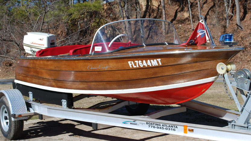 1940 Chris-Craft RDS 23-M presented as lot W54 at Kissimmee, FL 2011 - image3