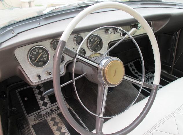 1955 Studebaker Speedster 2-Door presented as lot W68 at Kissimmee, FL 2011 - image3