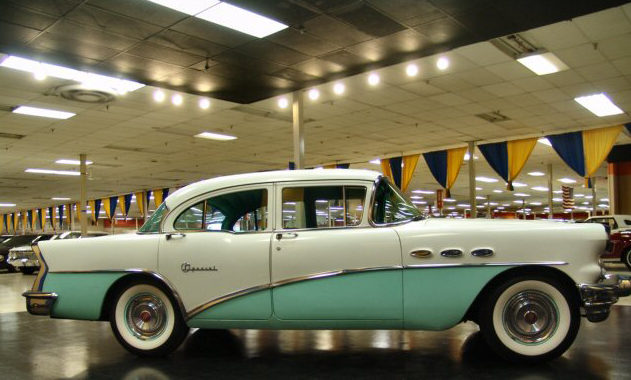 1956 Buick Special 4-Door Sedan 322/220 HP, Automatic presented as lot W156 at Kissimmee, FL 2011 - image2
