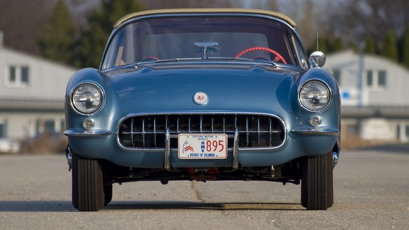 1956 Chevrolet Corvette NCRS Top Flight w/ 42,000 miles presented as lot T218 at Kissimmee, FL 2011 - image3