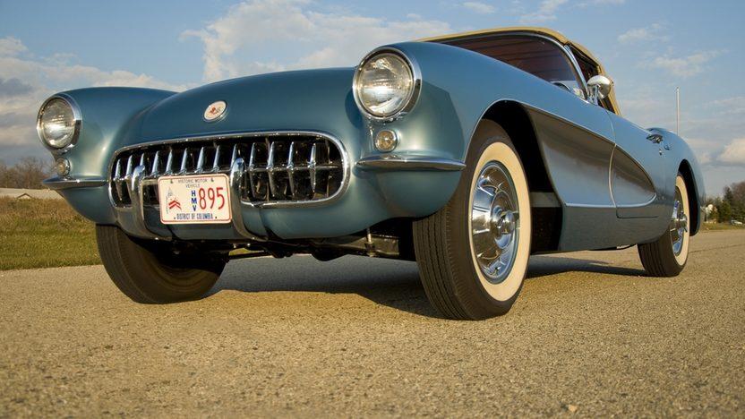 1956 Chevrolet Corvette NCRS Top Flight w/ 42,000 miles presented as lot T218 at Kissimmee, FL 2011 - image7