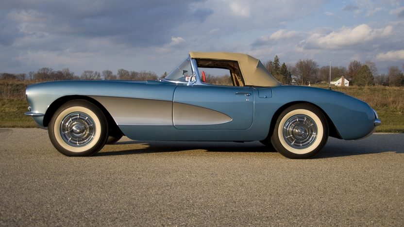 1956 Chevrolet Corvette NCRS Top Flight w/ 42,000 miles presented as lot T218 at Kissimmee, FL 2011 - image8