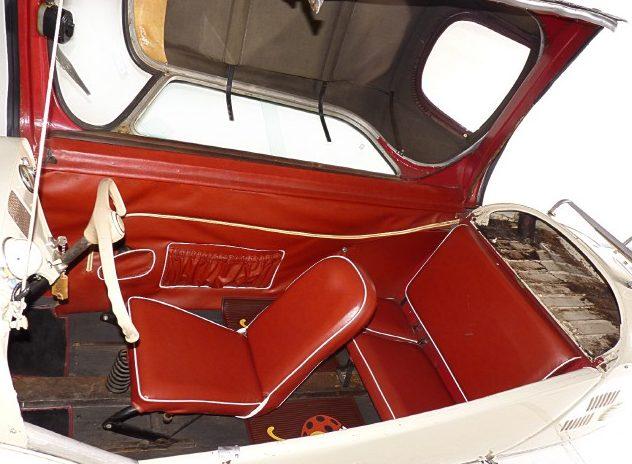 1958 Messerschmitt KR200 presented as lot T156 at Kissimmee, FL 2011 - image3