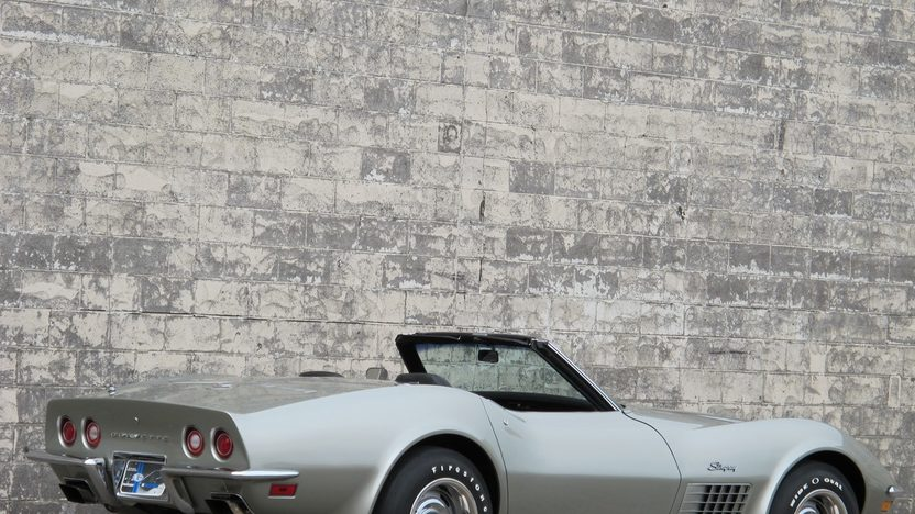 1972 Chevrolet Corvette LT1 Convertible 350 CI, 4-Speed presented as lot F65 at Kissimmee, FL 2011 - image2