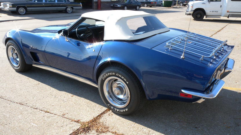 1973 Chevrolet Corvette Convertible L82, 4-Speed presented as lot F105 at Kissimmee, FL 2011 - image2