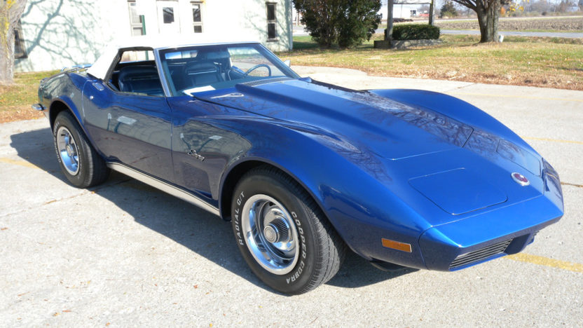 1973 Chevrolet Corvette Convertible L82, 4-Speed presented as lot F105 at Kissimmee, FL 2011 - image3