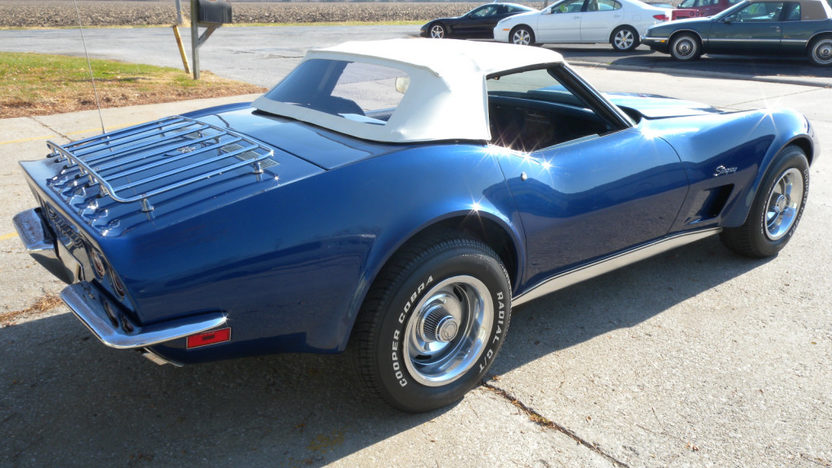 1973 Chevrolet Corvette Convertible L82, 4-Speed presented as lot F105 at Kissimmee, FL 2011 - image8