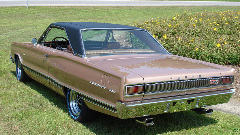 1967 Dodge Coronet 500 383 CI, Automatic presented as lot F108 at Kissimmee, FL 2011 - image2