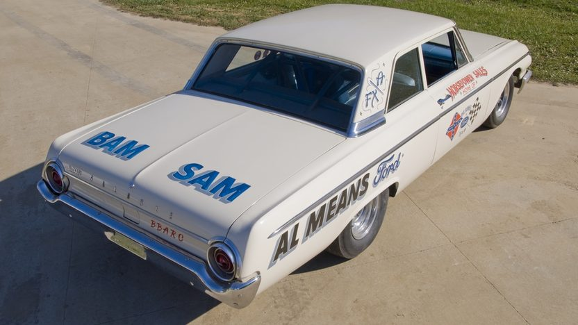 1962 Ford Galaxie Lightweight Phil Bonner Racecar presented as lot F129 at Kissimmee, FL 2011 - image8