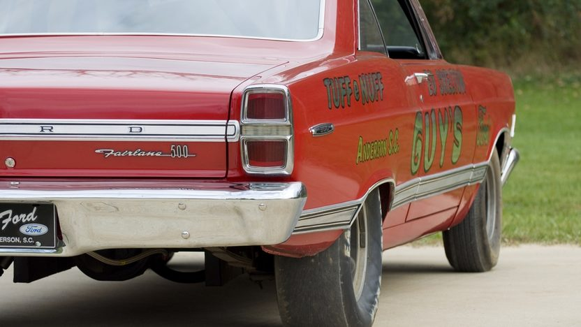 1967 Ford Fairlane R-Code Lightweight Factory Sponsored Racer presented as lot F266 at Kissimmee, FL 2011 - image4