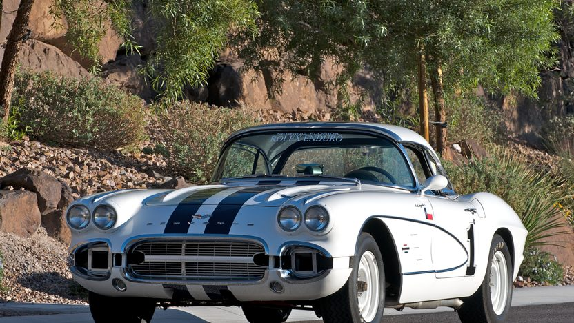 1961 Chevrolet Corvette Race Car 283/315 HP, 4-Speed presented as lot S109 at Kissimmee, FL 2011 - image2