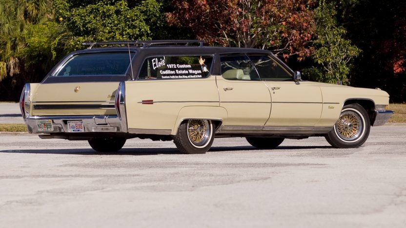 1972 Cadillac  Station Wagon Custom Built for Elvis Presley presented as lot S119 at Kissimmee, FL 2011 - image2