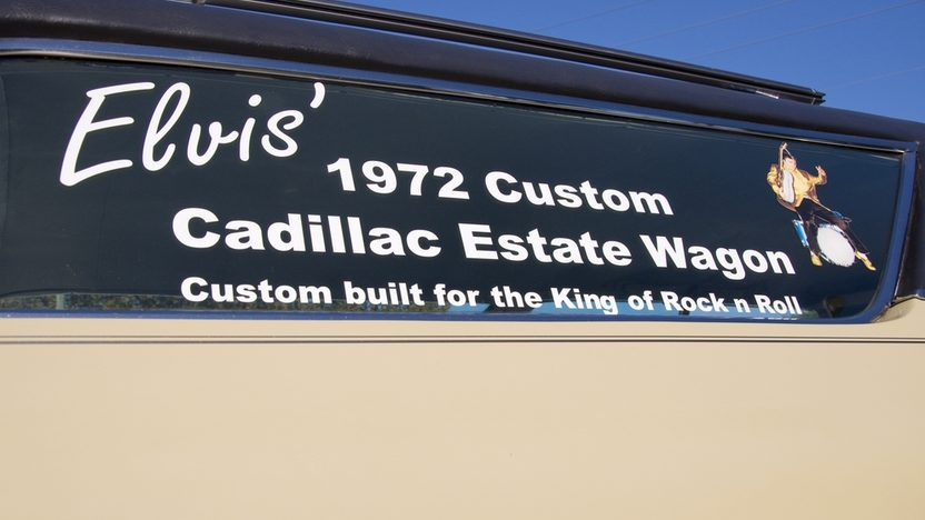 1972 Cadillac  Station Wagon Custom Built for Elvis Presley presented as lot S119 at Kissimmee, FL 2011 - image3