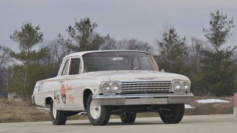 1962 Chevrolet Biscayne 2-Door 409/409 HP, 4-Speed presented as lot U46 at Kissimmee, FL 2011 - image3