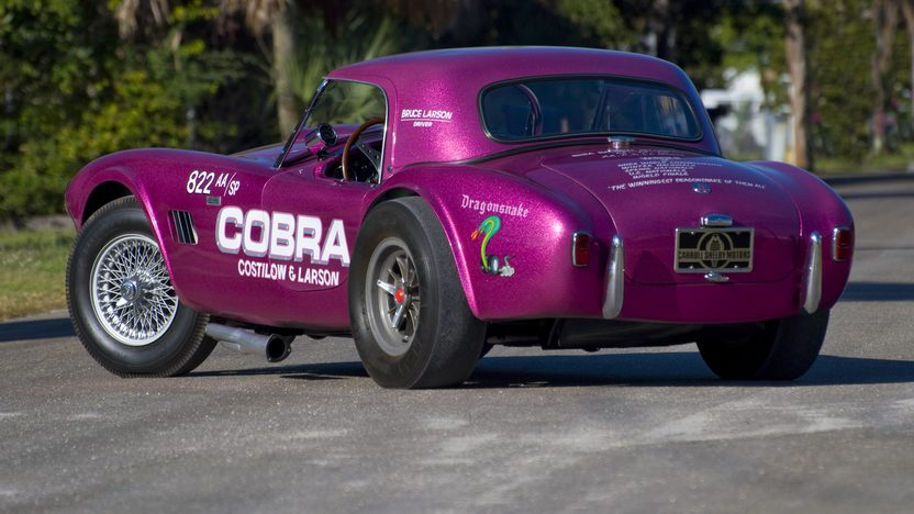 1963 Shelby Cobra DragonSnake Costilow/Larson, CSX2093 presented as lot S121.1 at Kissimmee, FL 2011 - image2