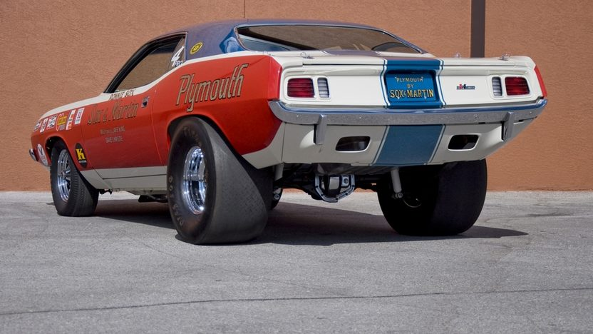 1971 Plymouth Hemi Cuda Pro Stock Sox & Martin, 426 CI, 4-Speed presented as lot S150.1 at Kissimmee, FL 2011 - image2