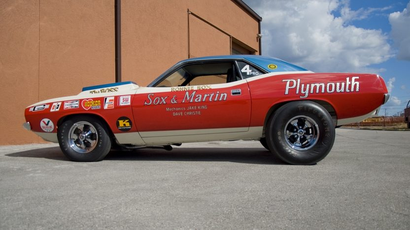 1971 Plymouth Hemi Cuda Pro Stock Sox & Martin, 426 CI, 4-Speed presented as lot S150.1 at Kissimmee, FL 2011 - image3