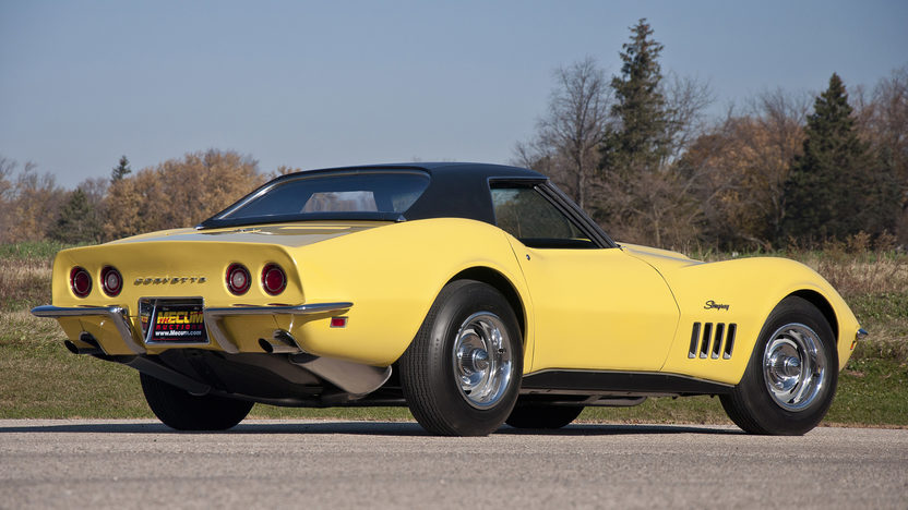 1969 Chevrolet Corvette L88 Convertible 427/430 HP, 4-Speed presented as lot F199 at Kissimmee, FL 2012 - image2