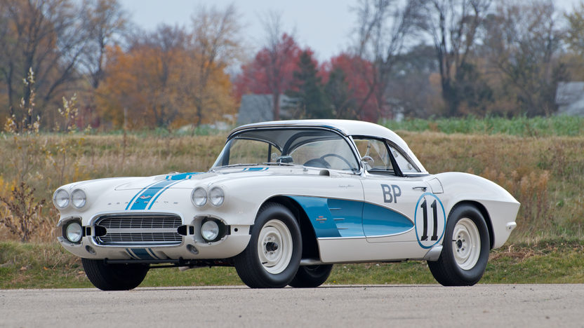 1961 Chevrolet Corvette Gulf Race Car