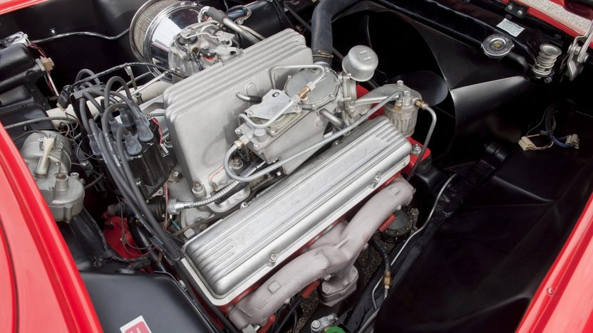1957 Chevrolet Corvette Convertible 283/283 HP, 4-Speed presented as lot S99 at Kissimmee, FL 2012 - image6