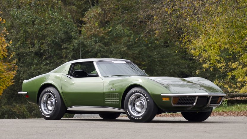 1972 Chevrolet Corvette LT1 Coupe Bloomington Gold Benchmark presented as lot S102 at Kissimmee, FL 2012 - image10