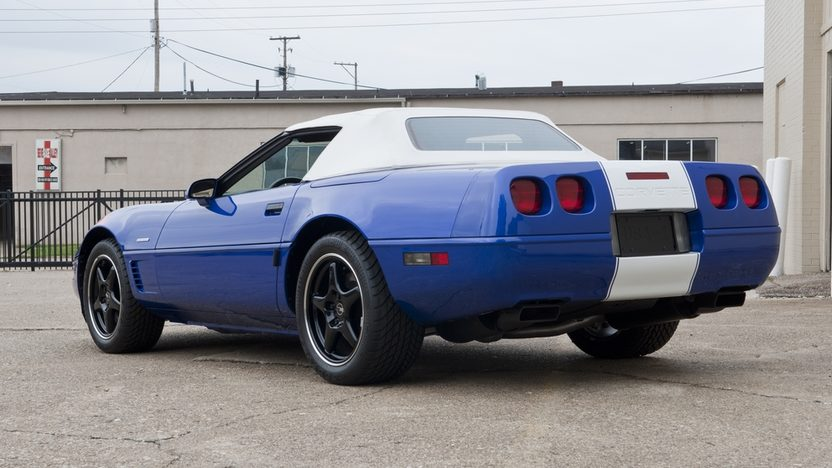 1996 Chevrolet Corvette Grand Sport Convertible 86 Actual Miles presented as lot S104 at Kissimmee, FL 2012 - image2