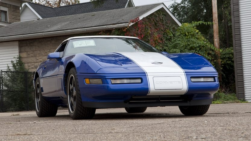 1996 Chevrolet Corvette Grand Sport Convertible 86 Actual Miles presented as lot S104 at Kissimmee, FL 2012 - image9