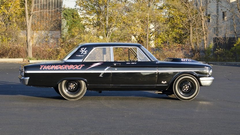 1964 Ford Fairlane Thunderbolt 427/425 HP, Automatic presented as lot S123 at Kissimmee, FL 2012 - image8