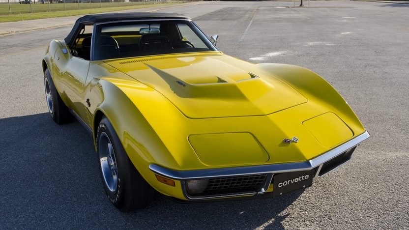 1971 Chevrolet Corvette LS6 Convertible 454/425 HP, 4-Speed presented as lot S175 at Kissimmee, FL 2012 - image11