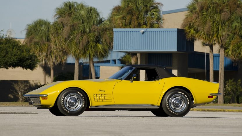 1971 Chevrolet Corvette LS6 Convertible 454/425 HP, 4-Speed presented as lot S175 at Kissimmee, FL 2012 - image2