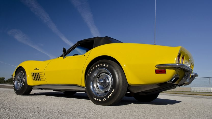 1971 Chevrolet Corvette LS6 Convertible 454/425 HP, 4-Speed presented as lot S175 at Kissimmee, FL 2012 - image3